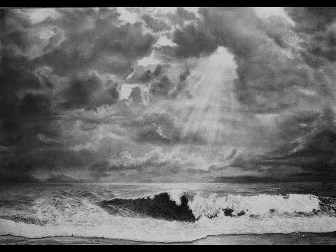 Рисуем морской пляж