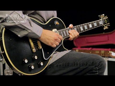 Gibson Custom 2014 Robby Krieger 1954 Les Paul Custom Electric Guitar, Aged Black