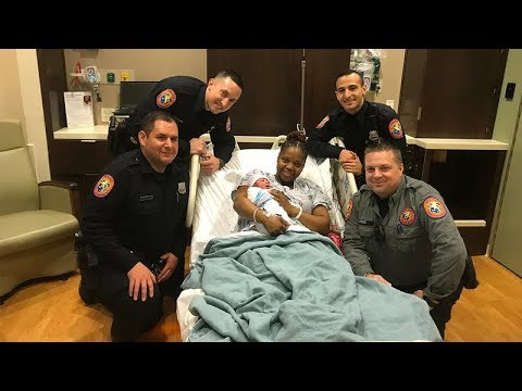 Nassau County Police help deliver New Year's Eve baby