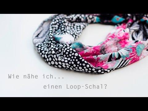 Wie nähe ich…einen Loop-Schal?