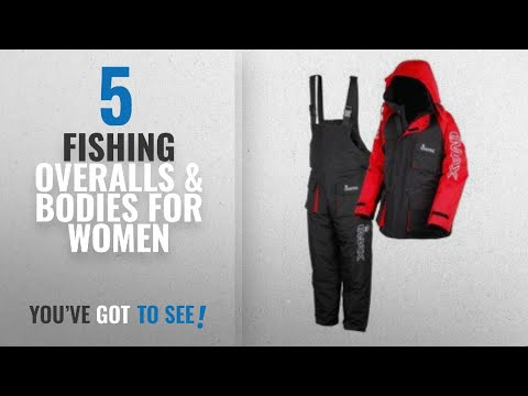 Top 10 Fishing Overalls & Bodies For Women [2018]: Imax Thermo Suit - Black, Small
