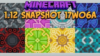 Minecraft 1.12 Snapshot 17w06a Glazed Terracotta, Powdered Concrete & Saved Toolbars!