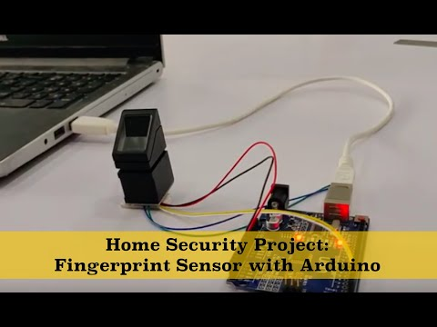 Tutorial Fingerprint sensor with Arduino