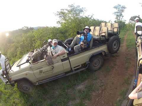 Bongani Mountain African Safari Vehicles for Photographer's Safari in South Africa