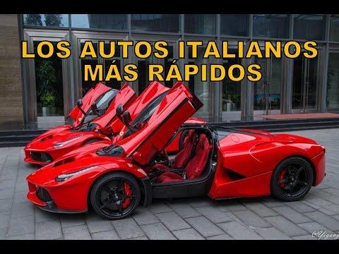 Los 10 Autos Italianos Mas Poderosos Youtube