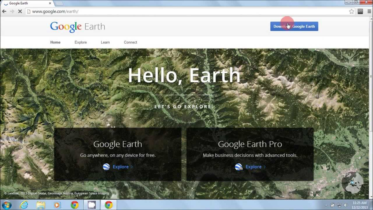 How to download and install google earth 2014 youtube how to download and install google earth 2014 gumiabroncs Images