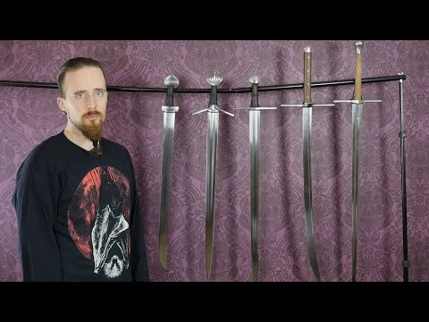 My Current Collection of Albion Swords (January 2017)