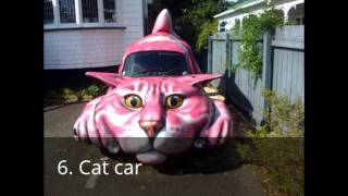 Top 10 funniest cars