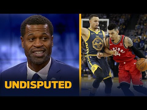 Stephen Jackson reacts to the Raptors' win over Warriors without Kawhi Leonard | NBA | UNDISPUTED