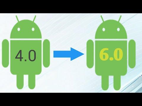 Cách Nâng Cấp Android Từ 4.0 đến 6.0; 7.0; 8.0 đơn Giản.