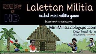 Lalettan Militia ♥ Mohanlal Game ♥ Mini Militia Hacked