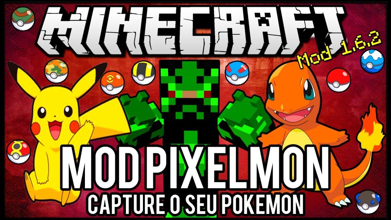 Download [Tutorial]MOD Pixelmon - Capture o seu Pokemon Minecraft
