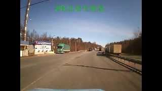 Лесовозы.(пройти весовой контроль водители первоначально отказались, мотивируя это тем, что автомашины вышли из..., 2014-03-27T12:19:24.000Z)