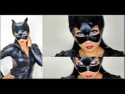 Catwoman Makeup Tutorial Halloween Makeup