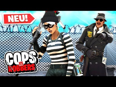 *NEU* COPS and ROBBERS Modus in FORTNITE!
