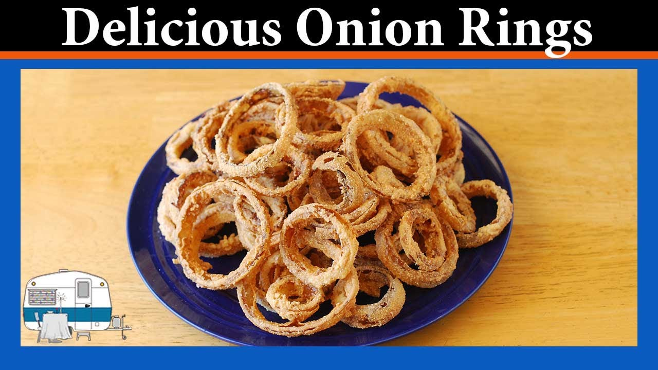 How To Make Restaurant Onion Rings