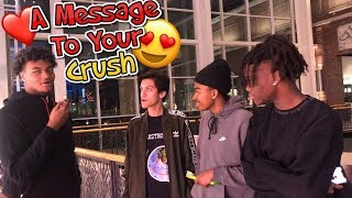 A MESSAGE TO YOUR CRUSH 😍 | PUBLIC INTERVIEW (MALL EDITION)