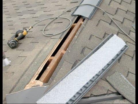 Ridge Vent - Ameritech Construction