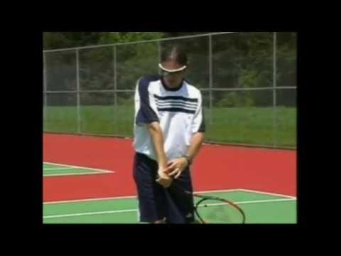 podstawy gry w tenisa - backhand