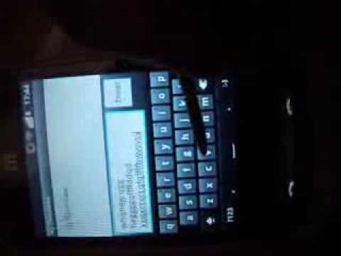 ZTE Racer Android 2.3.4 Cyanogenmod Screen Issue