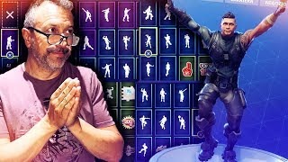 REACTION DI PAPA' AI BALLI DI FORTNITE!!|