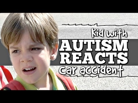 Kid with Autism Reacts to Car Accident! - Watch What Happens