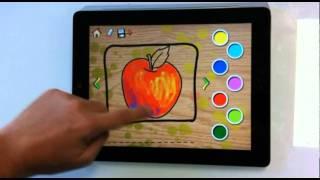 Colorear Idiomas - Aplicaciones APP Ipad - Iphone - CantaJuegos niños bebes infantiles