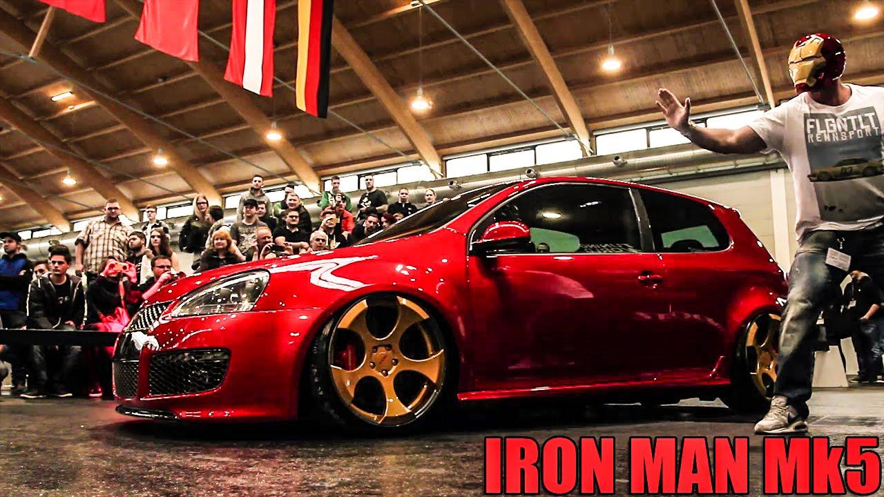 Iron Man Vw Golf Mk5 Ricarda Interviewt Bengee Youtube