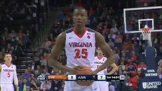 Syracuse at Virginia  NCAA Men's Basketball January 9, 2018