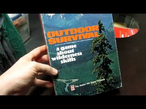 [Look Inside the Box] Outdoor Survival & Yellowstone (Avalon Hill - 1972 & 1985)