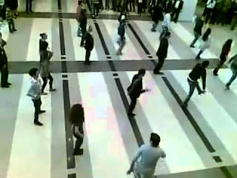 Dancing Dabke in BEIRUT INTERNATIONAL AIRPORT 1