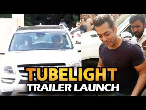 Salman Khan's GRAND ENTRY At TUBELIGHT Trailer Launch
