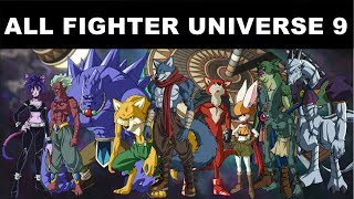 Dragon Ball Super -  All FIghter In Universe 9
