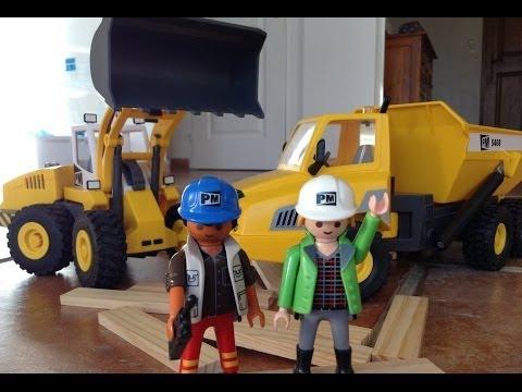 playmobil chantier travaux city action