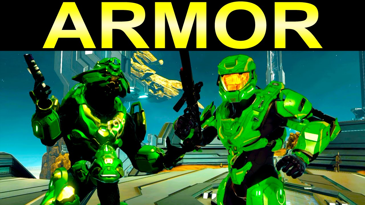 Halo 2 Anniversary Armor Elites And Spartans Customization