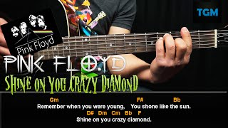 Como Tocar Shine On You Crazy Diamond - Pink Floyd - Tutorial en guitarra acustica