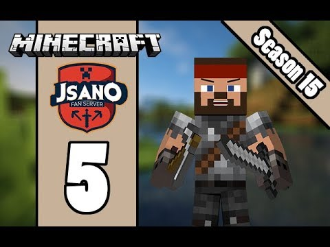Minecraft: JSano Fan Server - UHC S15 E5 - Lets Move!