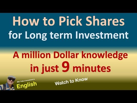 How to pick Good stocks for Investment | Stock Selection | Stock Picking|