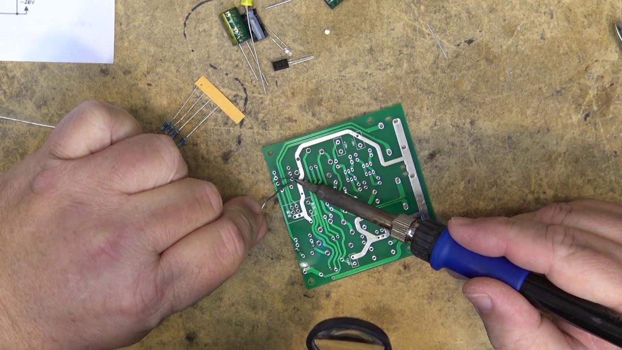Vacuum Tube Preamp Build And Test Youtube Nixie Mini Tester Wiring