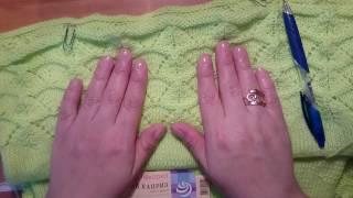 МК вязание простой летней кофточки #3