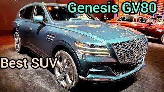 Genesis GV80, best luxury Kore…