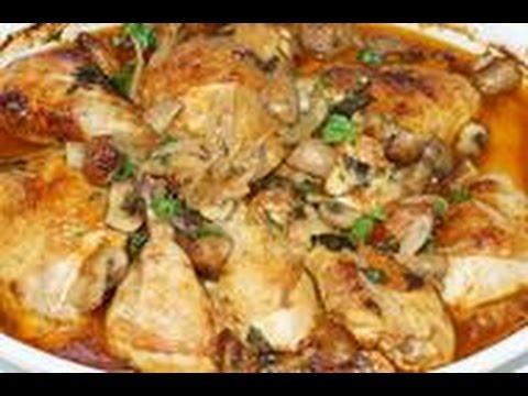 fricassÉ-de-poulet-aux-champignons-(cuisinerapide)