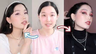 giving myself a makeover bc i've looked the same for 3 years | ethereal vs edgy