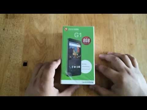 Cherry Mobile G1 Unboxing and Hands-on