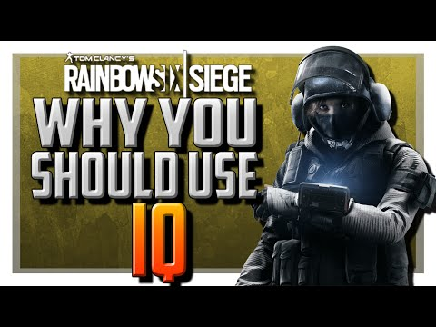 Why You Should Use IQ in Rainbow Six Siege!
