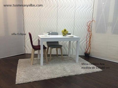 Mesa estrecha extensible para cocina y comedor youtube for Mesa cocina estrecha
