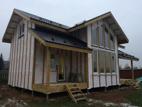 видео: Монтаж ГКЛ в доме из сип (sip) панелей. Отделка дома из сип - панелей.