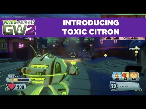 Toxic Citron Reveal | Plants vs. Zombies Garden Warfare 2 | Live From PopCap