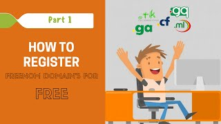 How to Register Freenom | .ga .tk .ml. gq .cf Domains for FREE !