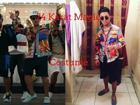 Bruno Mars 24K Costume (Halloween)